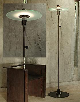 Masters of modernism bauhaus floor lamp gyula pap 1923 aloadofball Choice Image