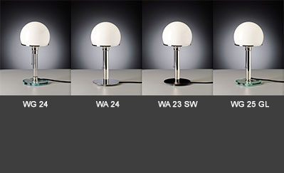 Masters of modernism table lamps wilhelm wagenfeld 1923 1925 aloadofball Image collections